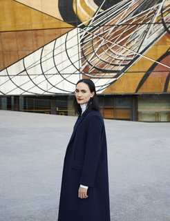 Mexico City-based architect, Frida Escobedo.
