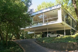 An Amazing Tree-Covered Glass House For Sale in the Berkeley Hills