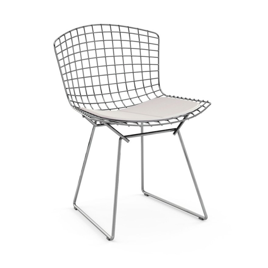 Knoll bertoia side chair dwell for Bertoia stoel