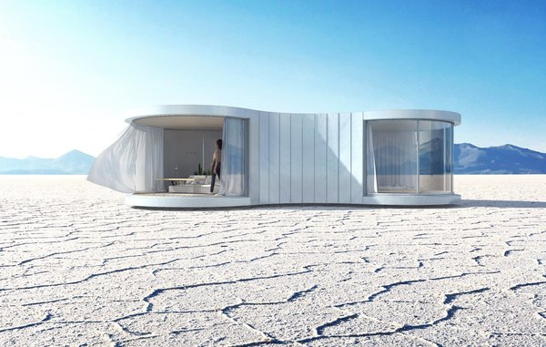 This Mesmerizing New Prefab Looks Like a Cocoon