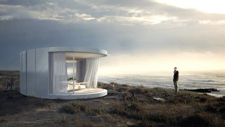 This Mesmerizing New Prefab Looks Like a Cocoon - Photo 6 of 7 -