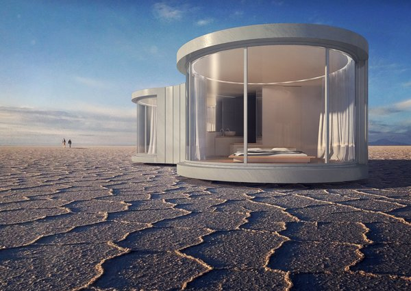 This Mesmerizing New Prefab Looks Like a Cocoon - Photo 1 of 7 -