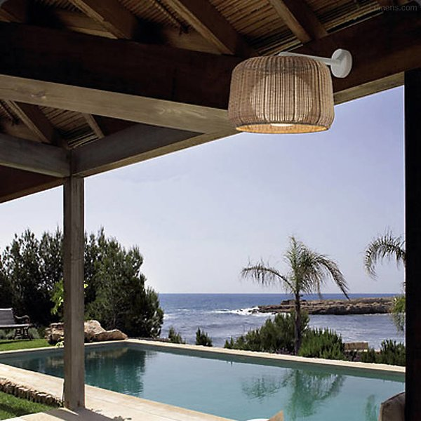 Bover Fora Outdoor Wall Sconce