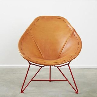 Garza Marfa Saddle Leather Chair By Garza Marfa   Dwell