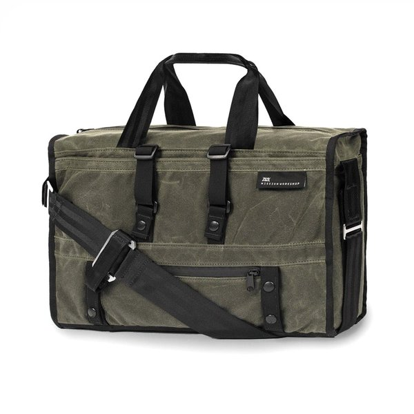 Mission Workshop Waxed Canvas Transit Laptop Bag