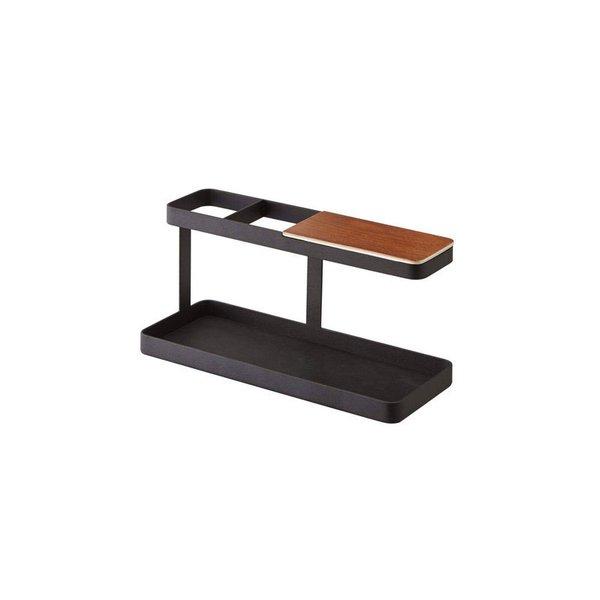 """Steel & Wood Desktop Organizer """"Deskbar"""""""