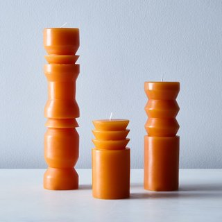 Areaware Totem Pillar Candles (Set of 3)