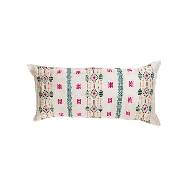 Berber 16x32 Bright Ivory Lumbar Pillow