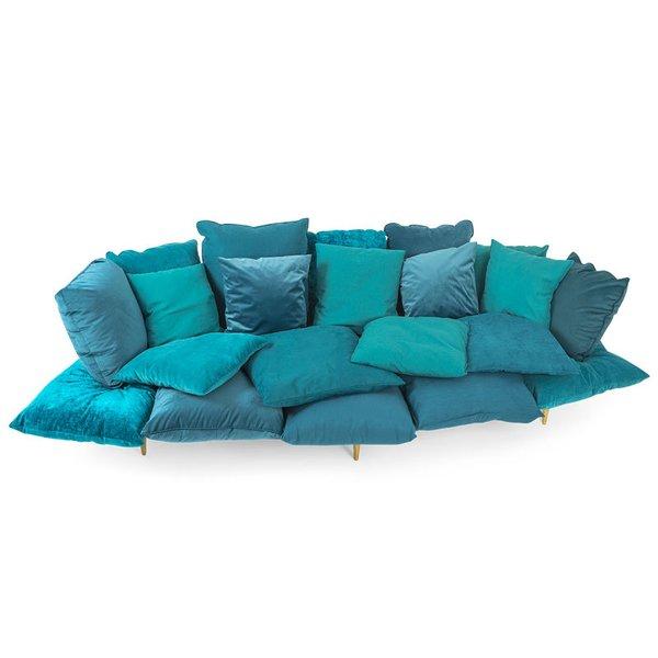 Seletti Comfy Sofa, Blue