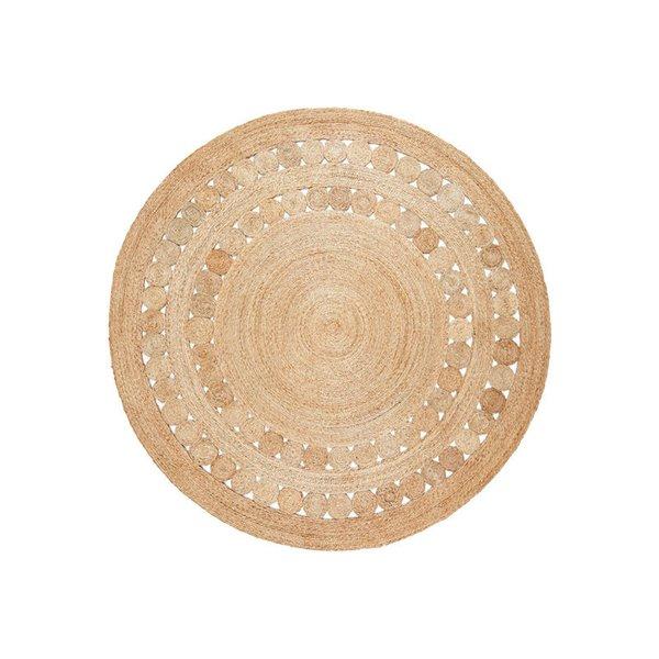 Armadillo & Co Flower Weave –  Dandelion Rug