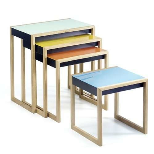 Josef albers nesting tables by yliving dwell 1 watchthetrailerfo