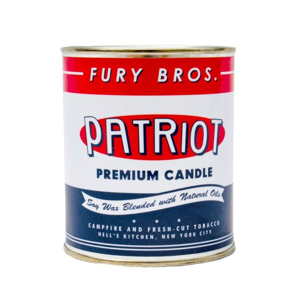 Fury Bros Oil Can Candle