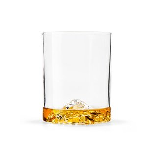 Huckberry Whiskey Peaks Rocks Glasses