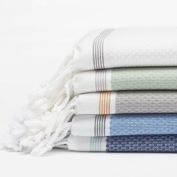 Coyuchi Mediterranean 6-Piece Towel Set