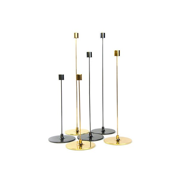 Gentner Design Brass Pin Candle Sticks