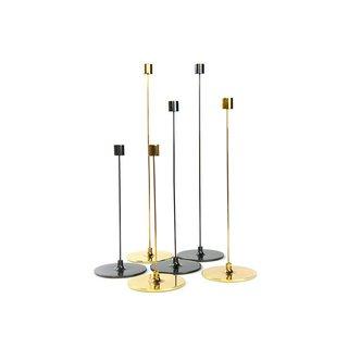 """Gentner Design Brass Cnadle Sticks """"Pin"""""""