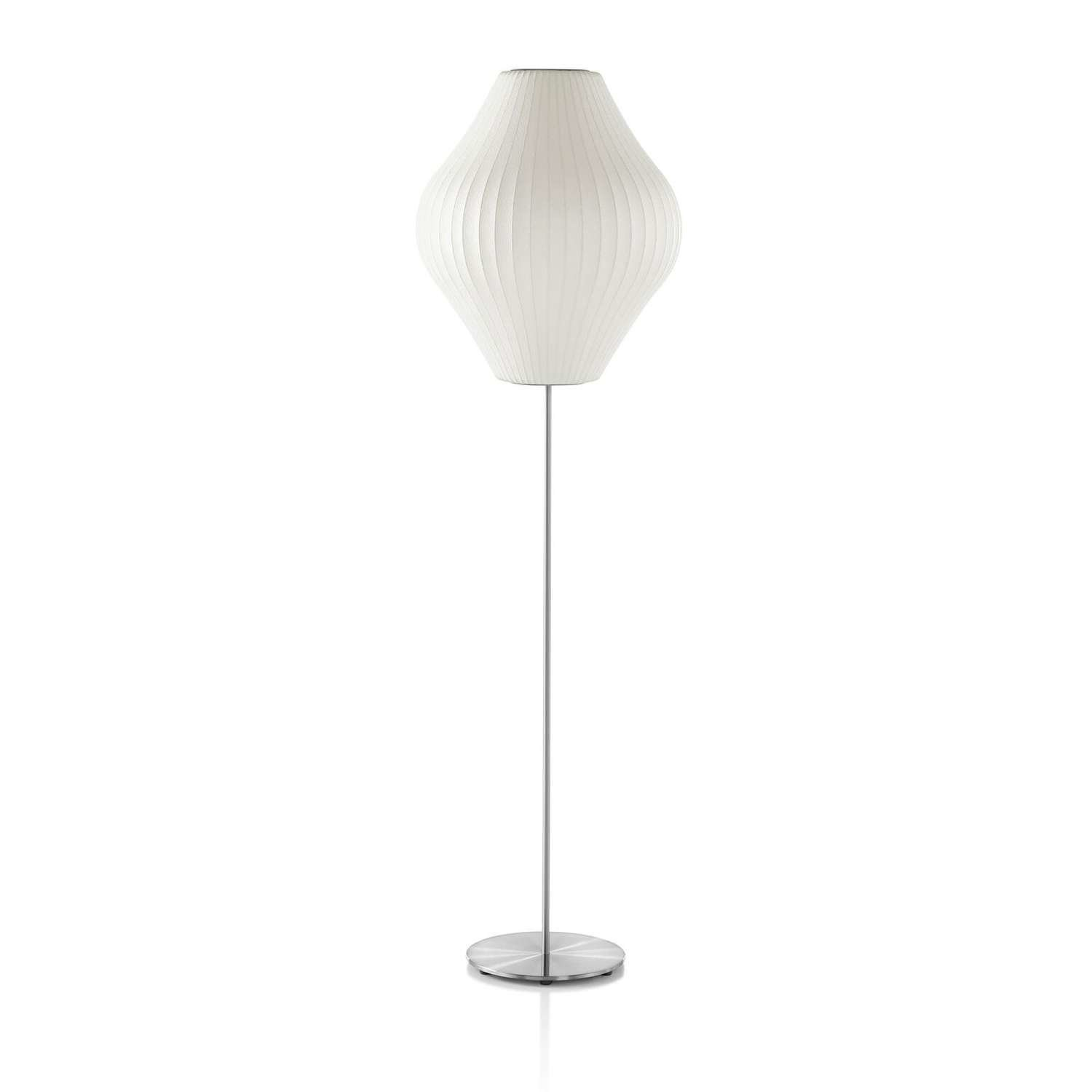 Nelson pear lotus floor lamp by lumens dwell nelson pear lotus floor lamp aloadofball Images
