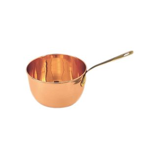 2 Qt Copper Beating Bowl/Zabaglione Pan