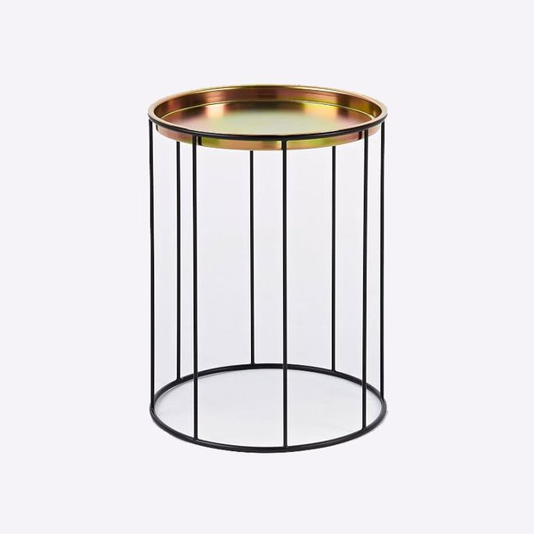 Eric Trine Column Side Table + Tray