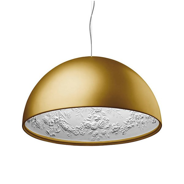 FLOS Skygarden Suspension Pendant Light in Gold