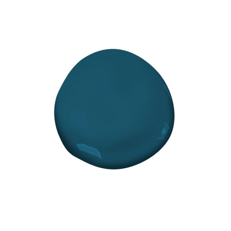 Photo 1 Of In Benjamin Moore Paint Slate Teal