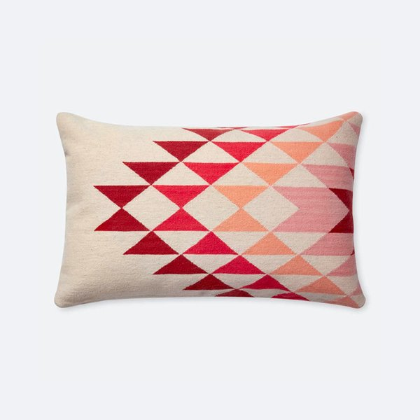 The Citizenry Lucia Lumbar Pillow – Sunset