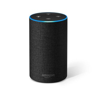 Amazon Echo (2nd Generation) With Charcoal Fabric