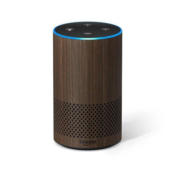 Amazon Echo (2nd Generation) With Walnut Finish