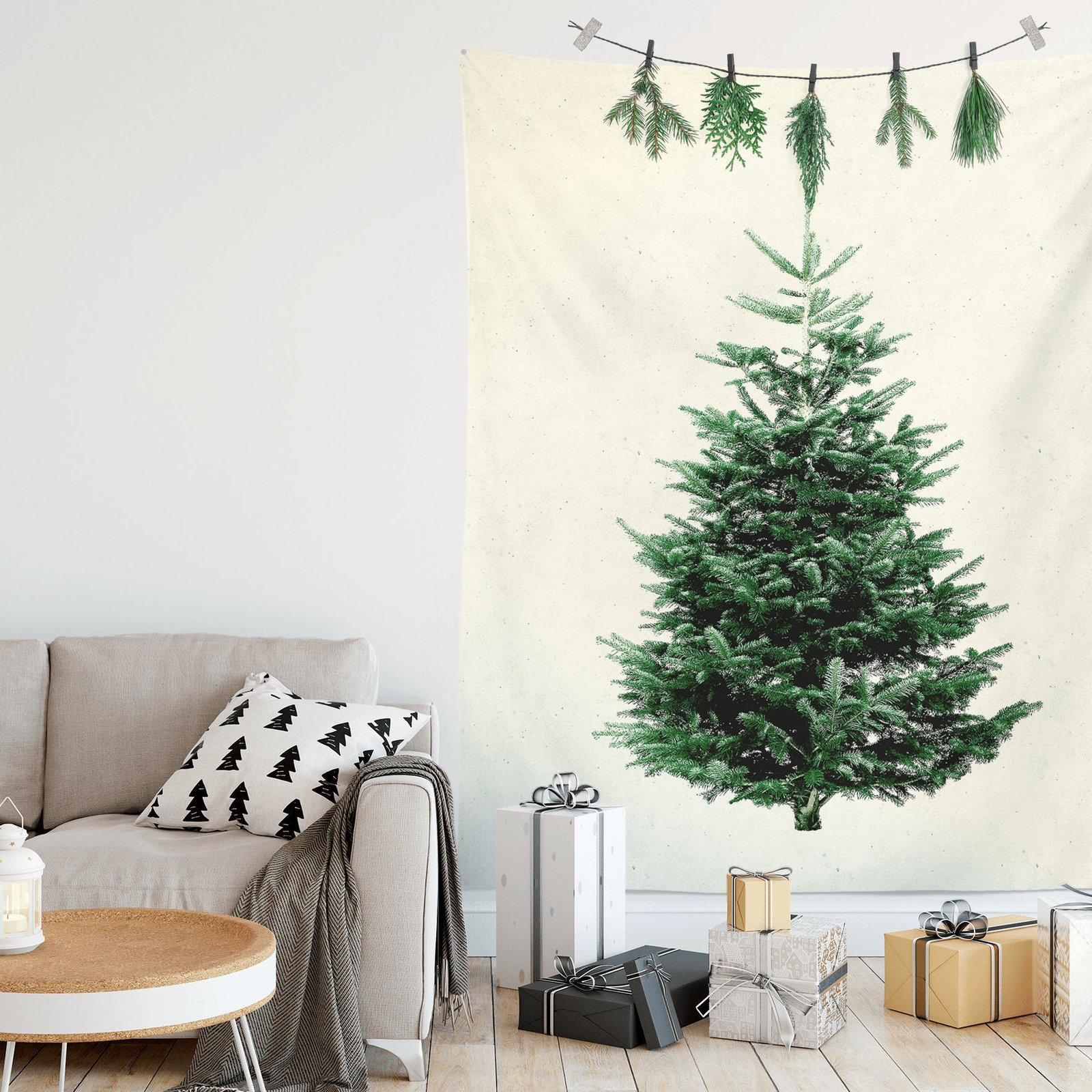 10 Festive Alternatives to the Traditional Christmas Tree - Dwell