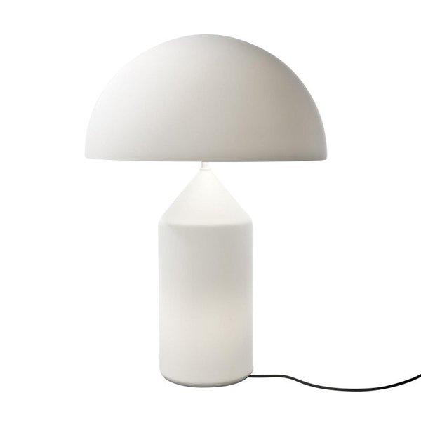 Oluce Atollo Glass Table Lamp