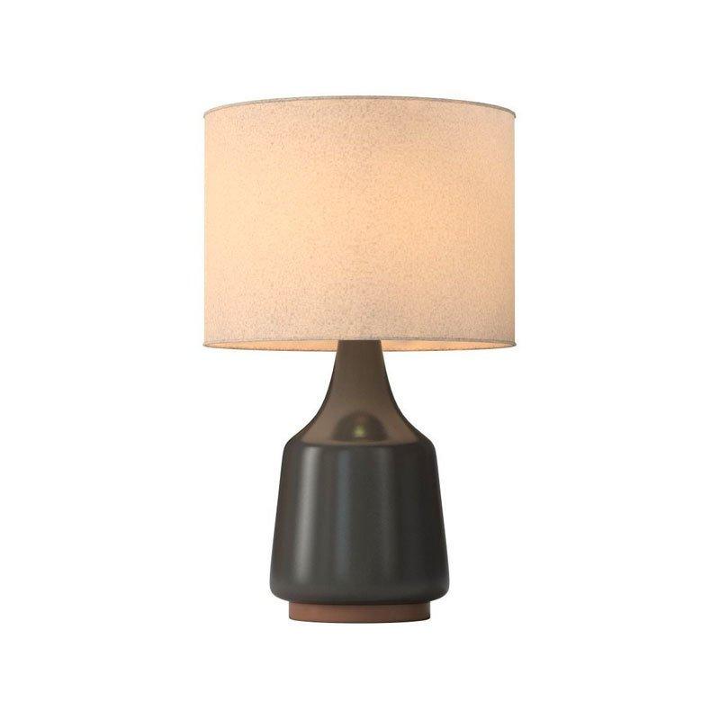 west elm morten table lamp black dwell. Black Bedroom Furniture Sets. Home Design Ideas