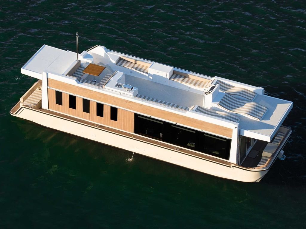 Photo 1 of 13 in Rent Out One of These Cool Houseboats or Floating Homes