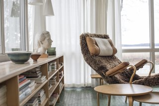 Swedish Designer Bruno Mathsson's Home Is a Perfect Midcentury Time Capsule