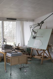 Swedish Designer Bruno Mathsson's Home Is a Perfect Midcentury Time Capsule - Photo 8 of 11 -
