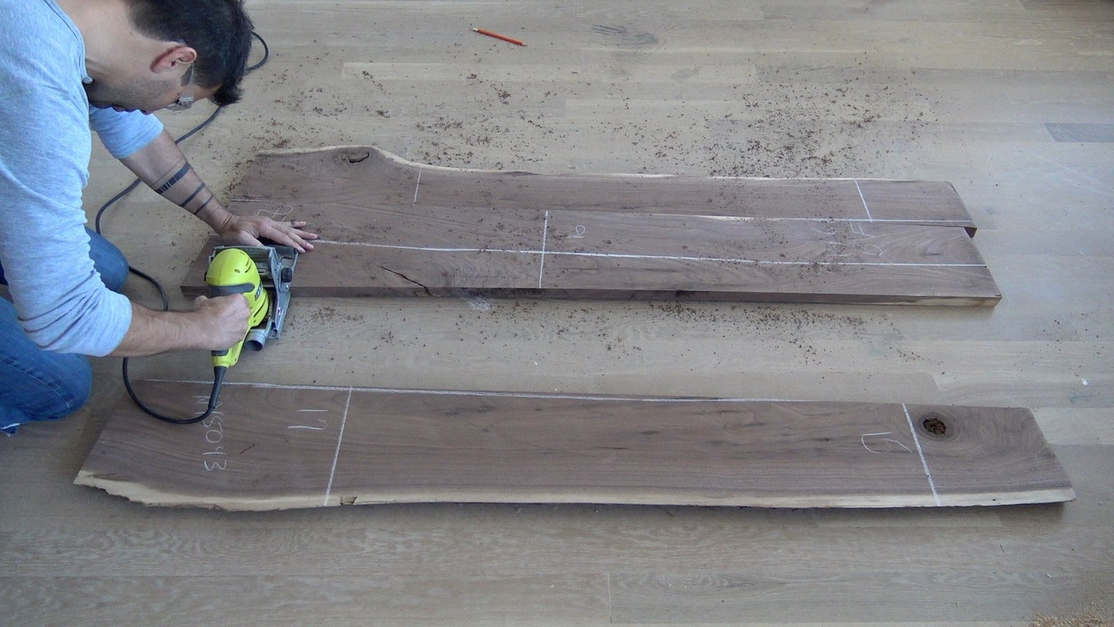 Photo 5 of 13 in Dwell Made Presents: DIY Walnut Dining Table