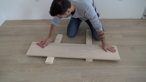 Photo 4 of 10 in Dwell Made Presents: DIY Black Oak Bench