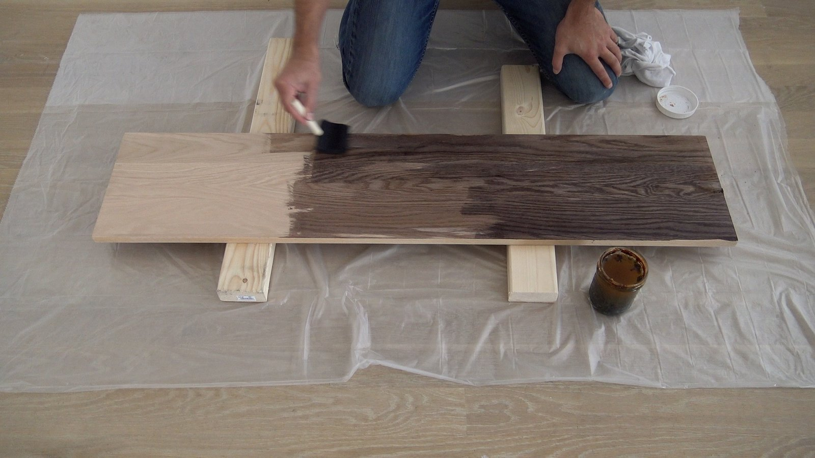 Photo 5 of 10 in Dwell Made Presents: DIY Black Oak Bench