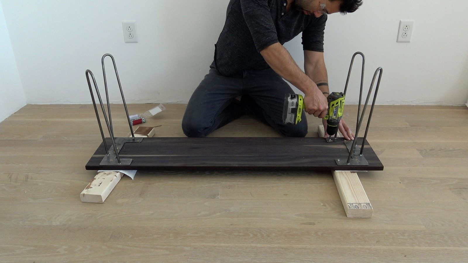 Photo 8 of 10 in Dwell Made Presents: DIY Black Oak Bench