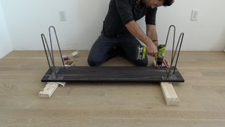 Dwell Made Presents: DIY Black Oak Bench - Photo 7 of 9 -