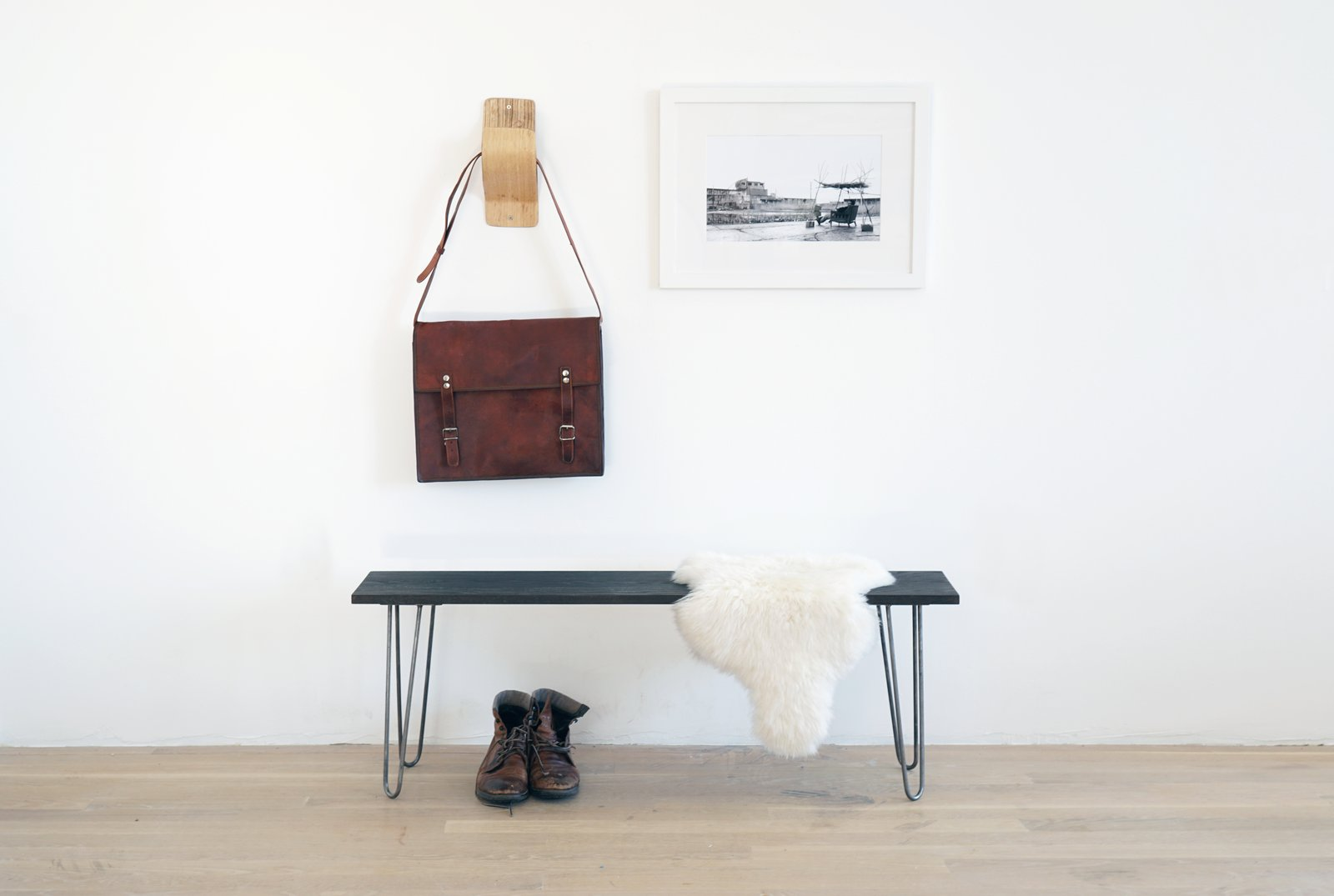 Photo 10 of 10 in Dwell Made Presents: DIY Black Oak Bench