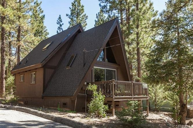 Photo 2 of 13 in A 1970s A-Frame Cabin in Big Bear Is Brought Back to Life
