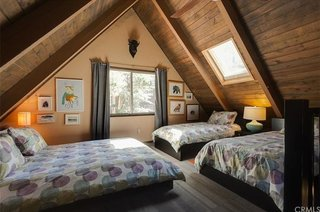 A 1970s A-Frame Cabin in Big Bear Is Brought Back to Life - Photo 9 of 12 -
