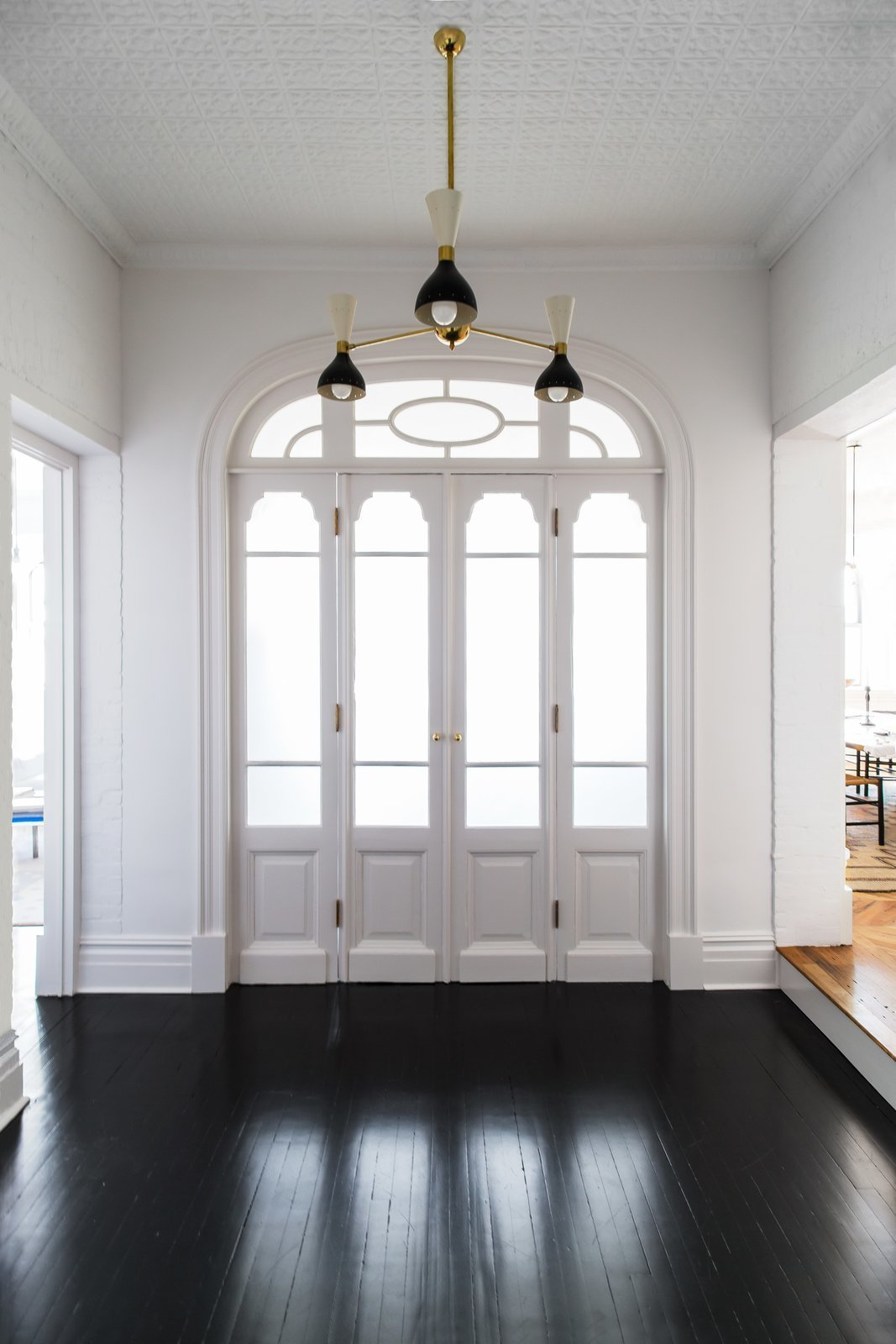 Doors, Interior, and Swing Door Type  Photo 2 of 22 in A 19th-Century Schoolhouse in Brooklyn Becomes a Classy Apartment