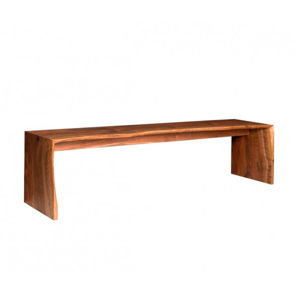 Live Edge Bench by The Joinery