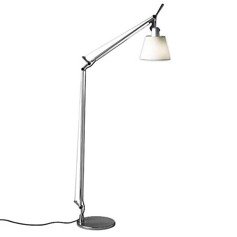 tolomeo with shade reading floor lamp by giancarlo fassina. Black Bedroom Furniture Sets. Home Design Ideas