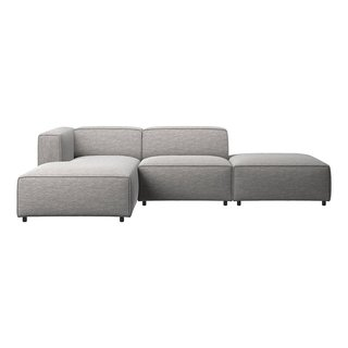 Carmo sofa with lounging and resting unit by BoConcept