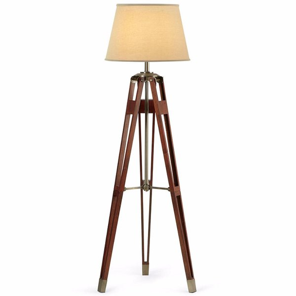 JCPenney Home Surveyor Tripod Floor Lamp