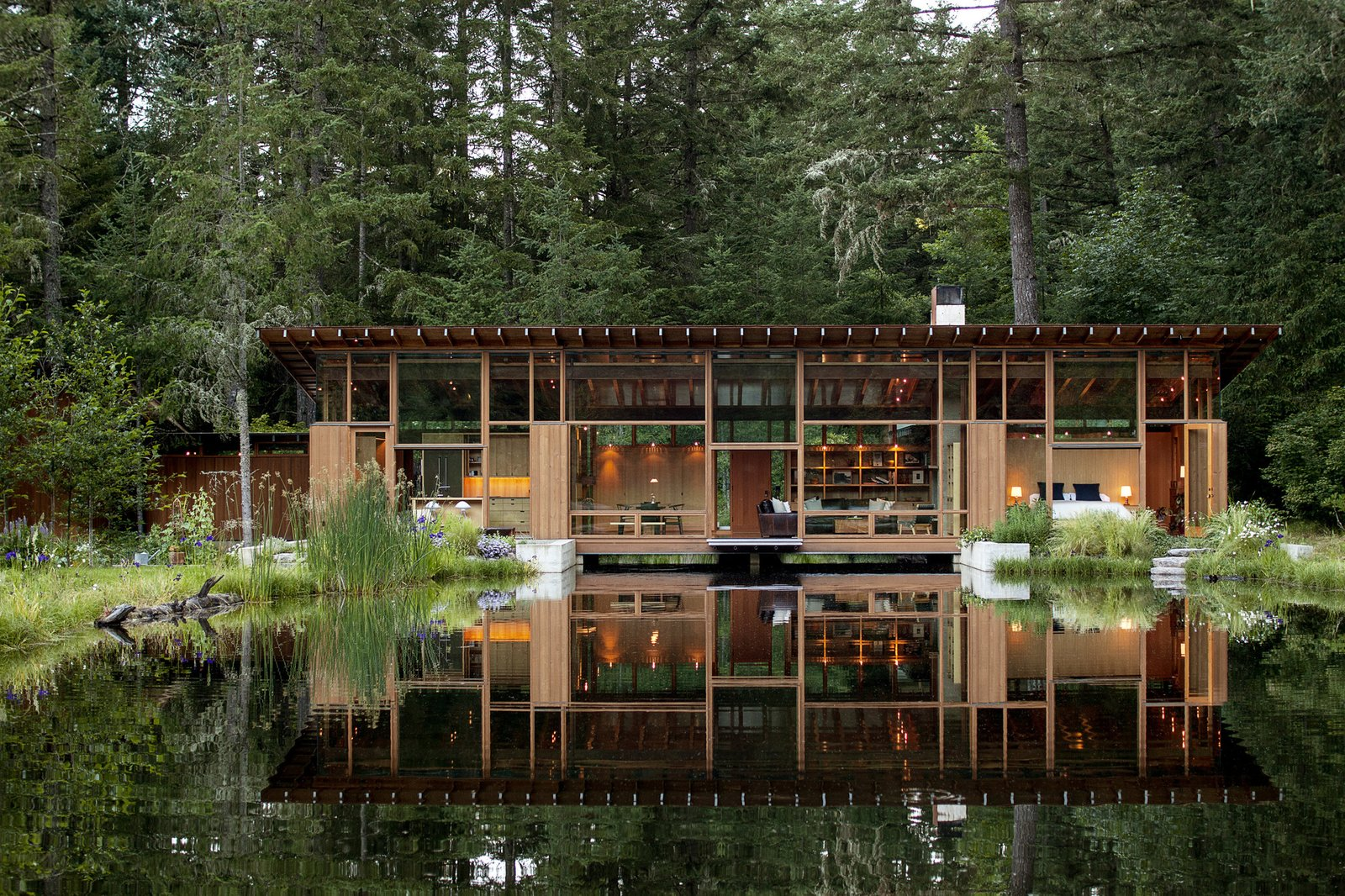 Exterior, Boathouse Building Type, Wood Siding Material, and House Building Type  Photos from Check Out Acclaimed Architect Jim Cutler's Design Must-Haves