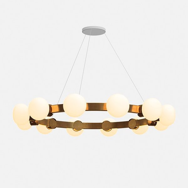 Rich Brilliant Willing Cinema 4 12 Plated Chandelier
