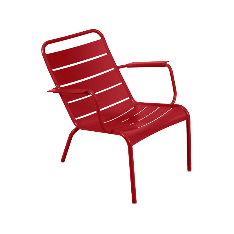 Fermob Luxembourg Stacking Low Armchair, Set of 2